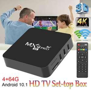 ТВ-приставка МX9 4K Android 10 Smart Box