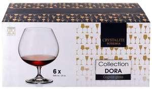 Набор бокалов для коньяка Crystalite Bohemia 690мл (6 шт) Чехия