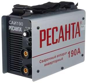Сварочный аппарат РЕСАНТА САИ-190 (MMA) и другие варианты в описании