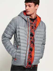 Скидка до 73% на бренд Superdry (например, Пуховик Chromatic Core Down Jacket)