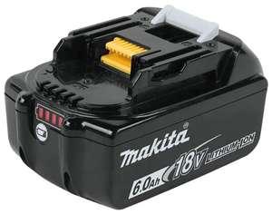 Аккумулятор Makita 197422-4 Li-Ion 18 В 6 А·ч (5974₽ для покупателей с Яндекс.Плюс)