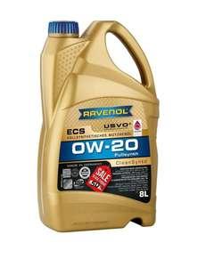 Моторное масло Ravenol ECS 0W-20 8 литров по цене 4 в магазине Ravenol