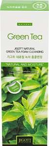 [Мск] Пенка для лица JIGOTT Natural очищающая с экстрактом зеленого чая, 180мл, Корея