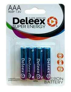 Батарейки Deleex ААА 128 шт