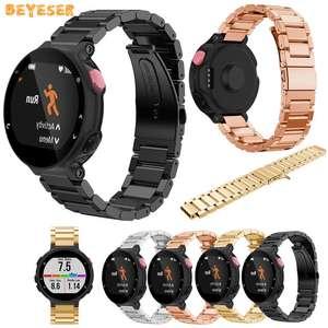 Ремешок для наручных часов из нержавеющей стали для Garmin Forerunner 220 230 235 630 620 735