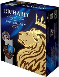 [СПб] Чай черный Richard Royal earl grey в пакетиках,100 шт.