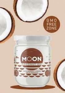 MOON Coconut oil кокосовое масло 100% Органическое Холодного отжима Extra Virgin