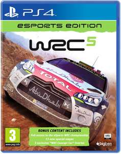 [PS4] WRC 5 Esports Edition