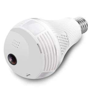 Беспроводная панорамная WiFi камера - лампочка