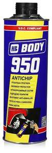 Жидкий антигравий HB BODY 950, 1 литр (черный, серый, белый)