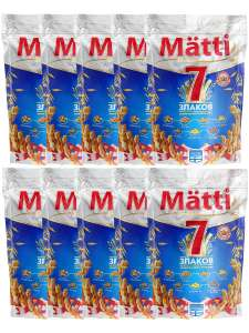 """Каша быстрого приготовления """"7 злаков"""", 4000г (10х400г), MATTI"""