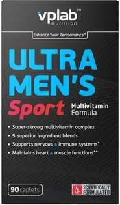 Витаминно-минеральный комплекс VPLAB Ultra Men's Sport, капсулы, 90шт