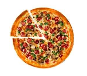 """[Мск] Скидка 50% на пиццу """"Деревенская"""""""