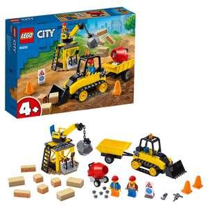 Скидка до 15% на Lego (напр. конструктор LEGO City 60252 Строительный бульдозер)