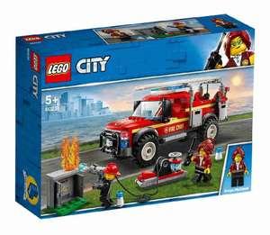 Конструктор Lego City Town 60231 грузовик начальника пожарной охраны