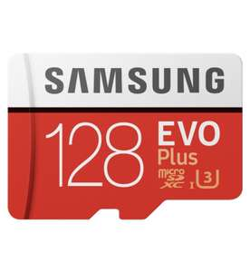 Карта памяти Samsung EVO Plus microSDXC 128 ГБ
