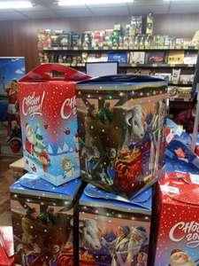 [Кострома] Новогодний подарок с конфетами