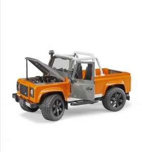 Bruder Внедорожники Land Rover Defender; пр-во Германия; 1:16 (подборка внутри, один уже разобрали)