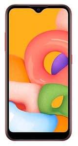 Смартфон Samsung Galaxy A01, SM-A015FZRDSER (2+16 Гб, Snapdragon 439, 1520x720, Android 10)