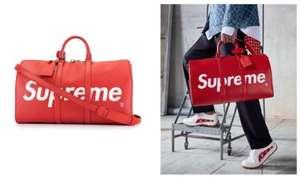 Сумка Louis Vuitton из коллаборации с Supreme