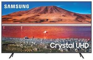 """ТВ Samsung UE55TU7090U 55"""" (2020) черный/серебристый"""