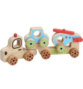 Игрушка-каталка LUCY&LEO «Мой первый транспорт»