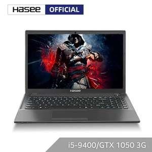 Ноутбук Hasee K670E-G6A6 Intel core i5-9400 + GTX1050 3G /8 Гб RAM/512 ГБ SSD/15,6 дюйма IPS (с купоном продавца)