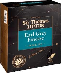 Чай черный Sir Thomas Lipton Earl Grey 100пк