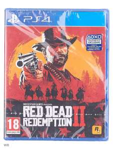 [PS4] Игра Red dead redemption -2 (диск)