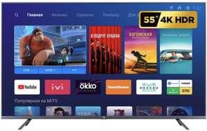 """Телевизор Xiaomi Mi TV 4S 55 T2 54.6"""" (2019) черный"""