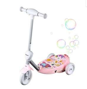 SONMAX Электросамокат детский с пузырями SONMAX, розовый