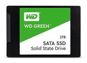 Western Digital 1TB WD Green 2.5 и 1TB WD Blue SN550 NVMe (прямая доставка Amazon)