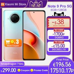 Смартфон Xiaomi Redmi Note 9 Pro 5G 6/128