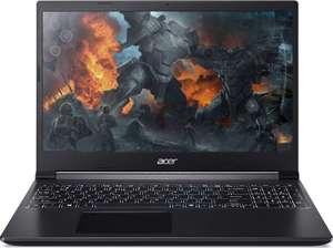 "Ноутбук ACER Aspire 7 A715-41G-R02Q, 15.6"", IPS, AMD Ryzen 7 3750H 2.3ГГц, 8ГБ, 256ГБ SSD, nVidia GeForce GTX 1650 - 4096 Мб"