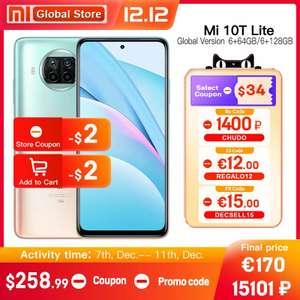 Смартфон Xiaomi Mi 10T Lite 5G 6/64