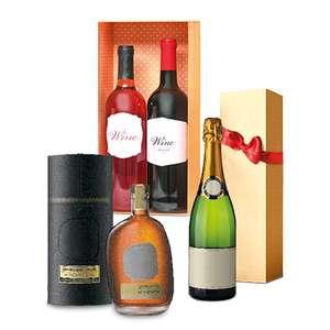 Скидка 40% на весь алкоголь в подарочной упаковке