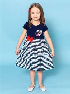 Платье детское LITTLEDANDY 3-5 лет хлопок с эластаном