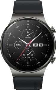 [не везде] Умные часы Huawei Watch GT 2 Pro, 46 мм, черная ночь