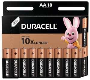 Батарейки Duracell Basic AA 18 шт блистер