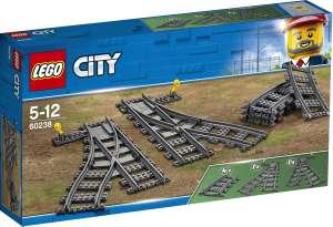 Конструктор LEGO City Trains 60238 Железнодорожные стрелки