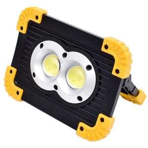 LED лампа для кемпинга с функцией пауэрбанка за $8.9