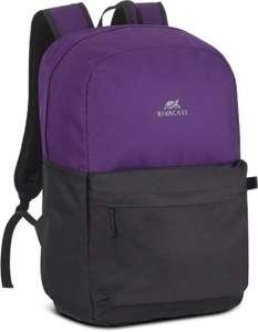 """Рюкзак 15.6"""" RIVA Mestalla 5560, фиолетовый/черный [5560 signal violet/black]"""