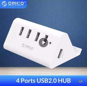 USB концентратор + подставка для телефона ORICO (2в1)