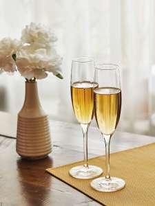 KILUX Набор стеклянных бокалов для шампанского Nebelhaufen, 170 мл, 2 шт