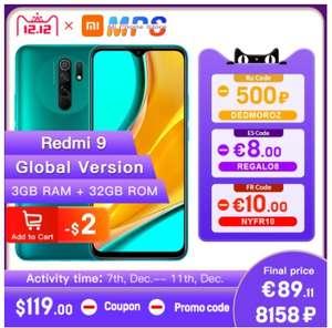 Смартфон Redmi 9 3+32 Гб