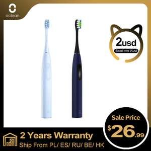 Ультразвуковая электрическая зубная щетка Oclean F1 IPX7