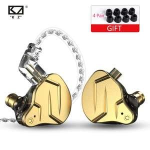 Гибридные наушники KZ ZSN Pro ( 1BA + 1DD ) без микрофона
