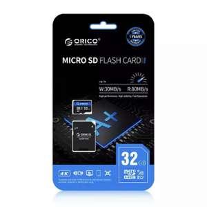 Карта памяти Orico 32 GB Micro SD с адаптером