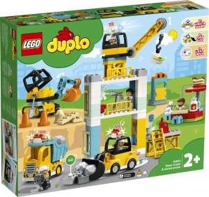 Скидки до 50% на LEGO (напр. Конструктор LEGO DUPLO Town 10933 Башенный кран на стройке)
