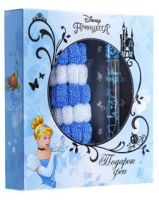Детская душистая вода Принцесса Disney. Подарок Феи 15 мл+резинки для волос, КПК-Парфюм